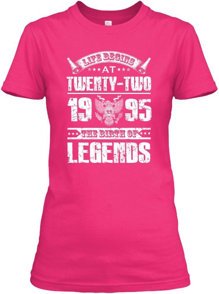 The birth of legends at twenty- two 1995 | Custom shirts ...
