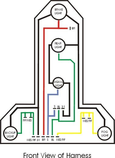 2003 Jetta Tail Light Bulb diagram | 03 wagon question ...