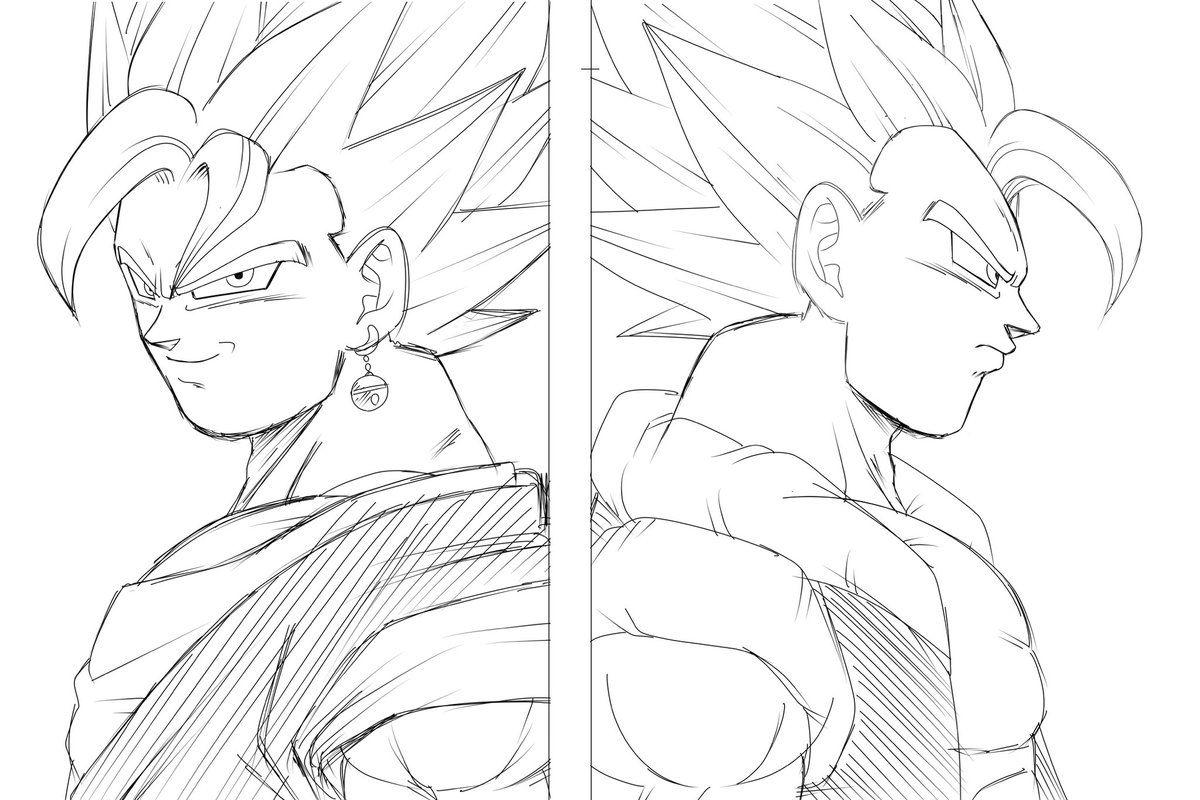 Super Vegetto Gogeta Yo Dragon Ball Z Dragon Ball Y