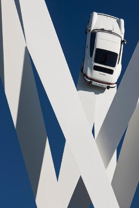 Porsche takes to the sky