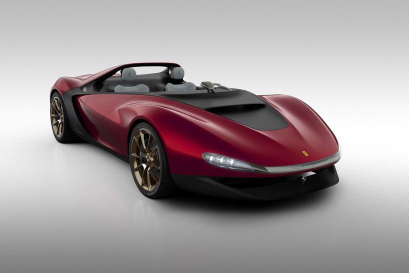 Pininfarina Ferrari Sergio Windshield Less Concept Ferrari