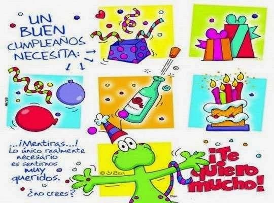 Tarjetas de cumpleaños originales y divertidas para hombres ...