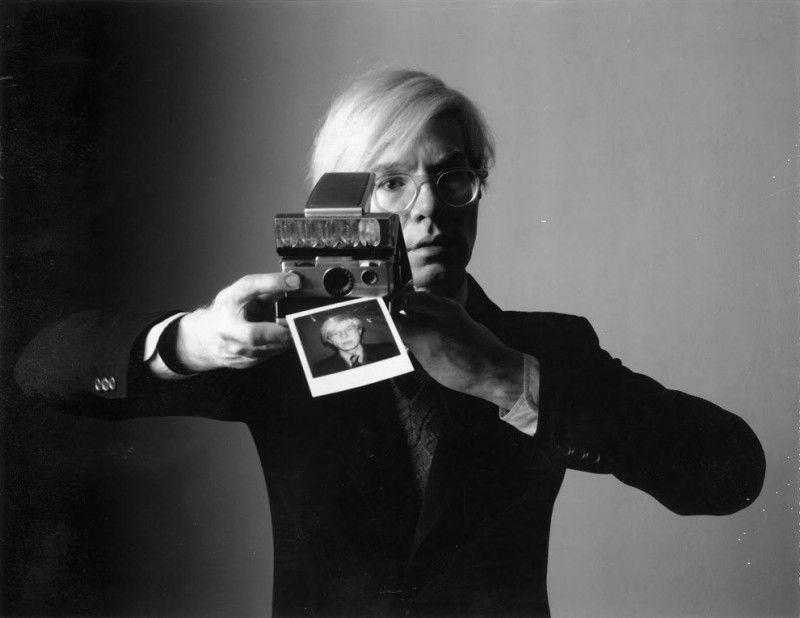 Andy Warhol par Oliviero Toscani