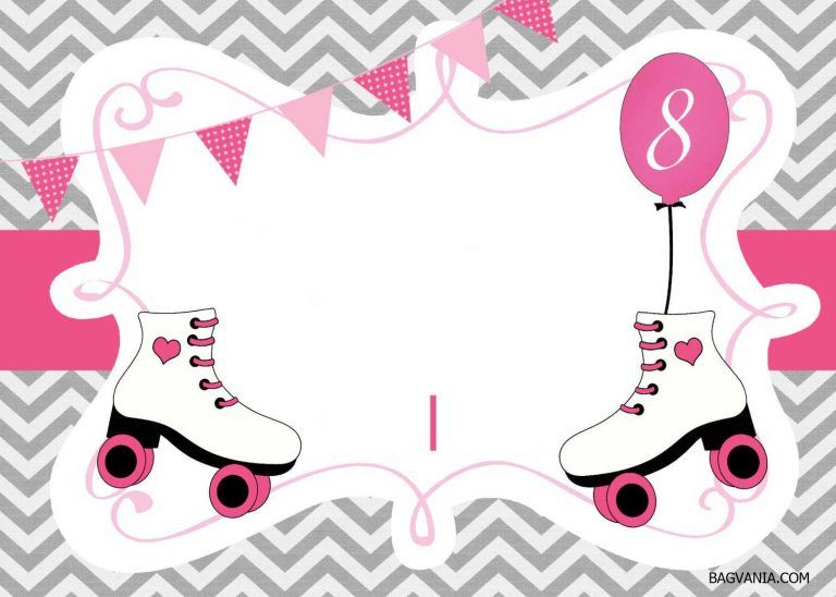 graphic regarding Free Printable Skating Party Invitations called Totally free Printable ice skating birthday invites template