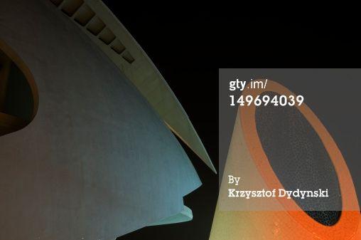 High-Res Stock Photography: Detail of Palau de les Arts Reina…