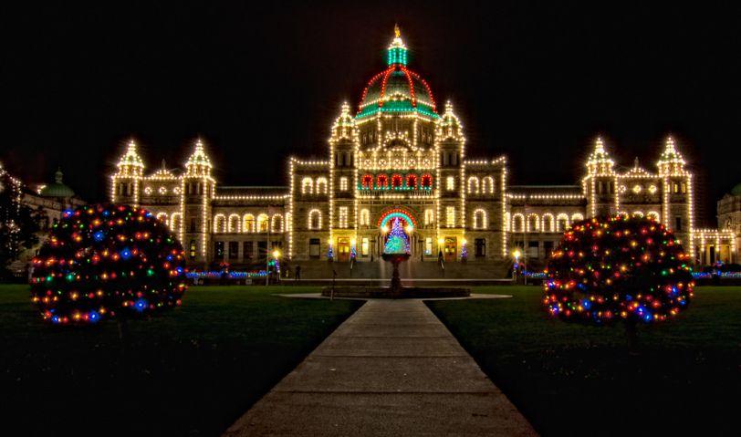 Christmas Across Canada Christmas Lights Canada Christmas Holiday Lights