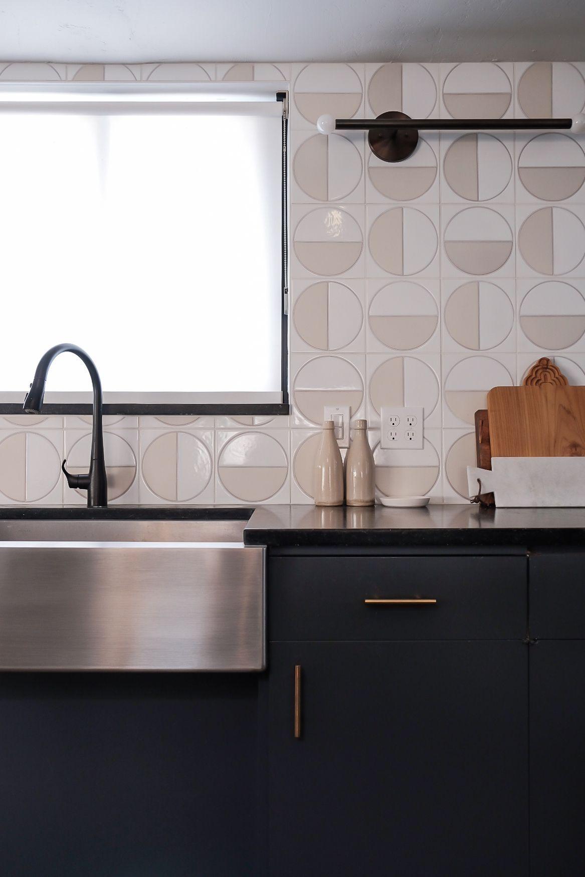 Kirsten Grove S Kitchen Backsplash Features Our Handpainted