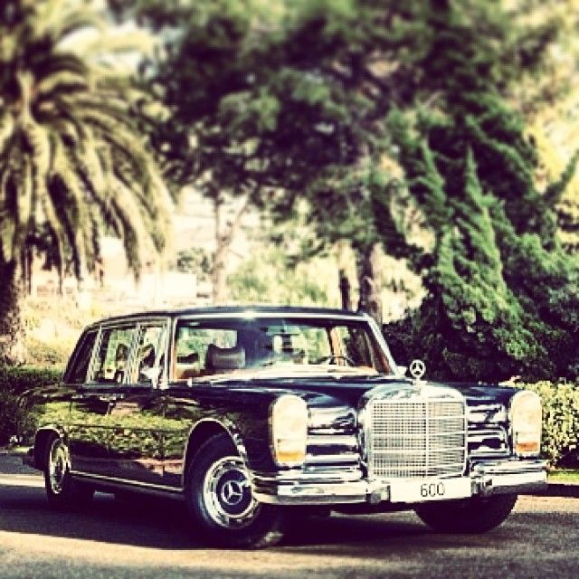 The 600. #mercedes #benz #classiccar @instacar c/o @Mercedes-Benz – The best or nothing