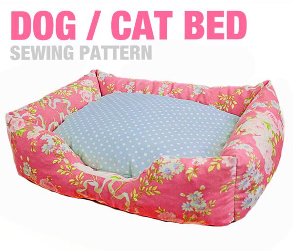 Sewing Pattern - Dog / Cat / Pet Bed - 3 Sizes | Cats and I ...