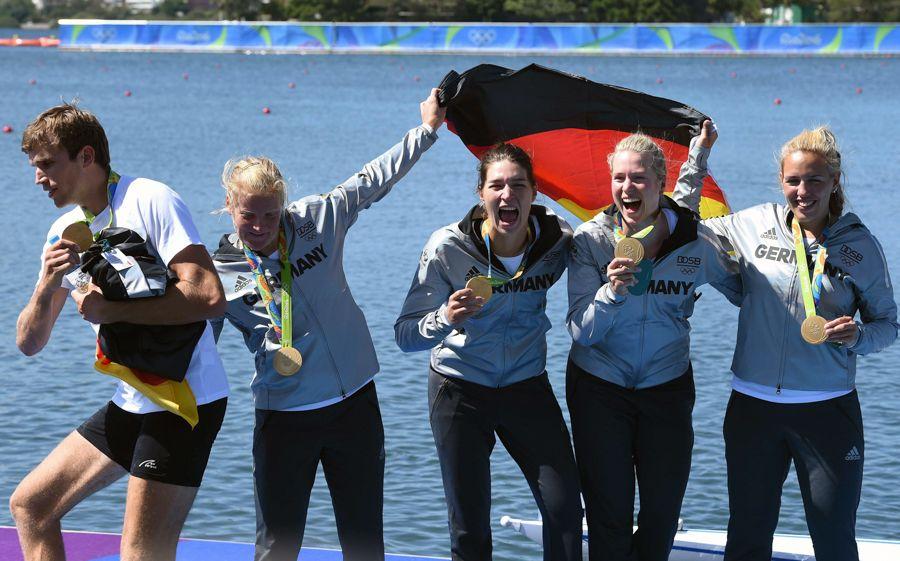 Hingucker Hanix No.45, Carina Bär, Rudergold bei den Olympischen Spielen in Rio