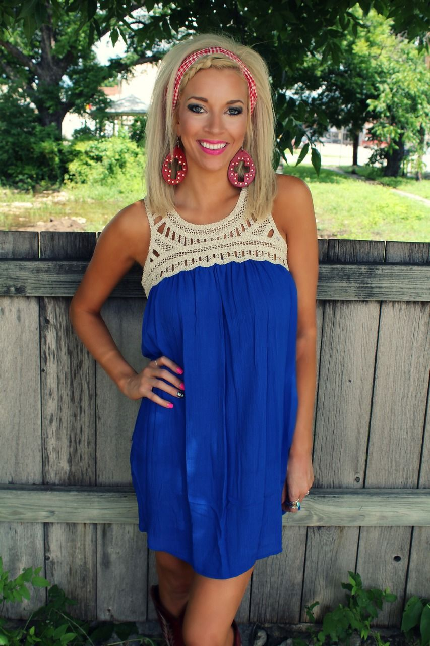 45aba5cc641cf Get 10% off anything at The Lace Cactus with code KELSEYR10 Hello Darlin   Blue Dress - The Lace Cactus