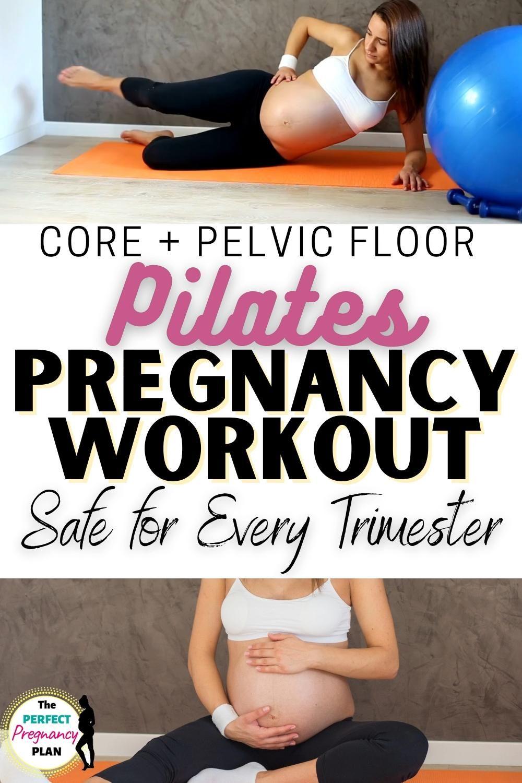 Fit pregnancy workout: Prenatal Pilates