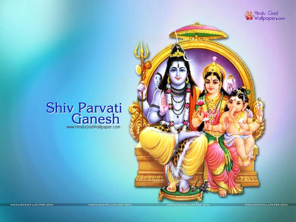 Shiv Parvati Ganesh Wallpaper Devotion Pinterest Ganesh