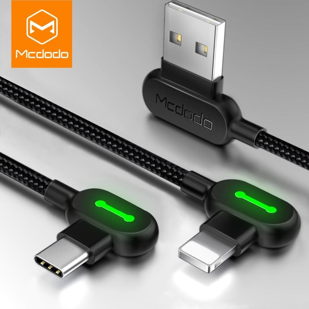 Mcdodo Cable For Iphone Or Type C Usb Cable Fast Charging Cable Charging Cable Cable Charger Phone Cables