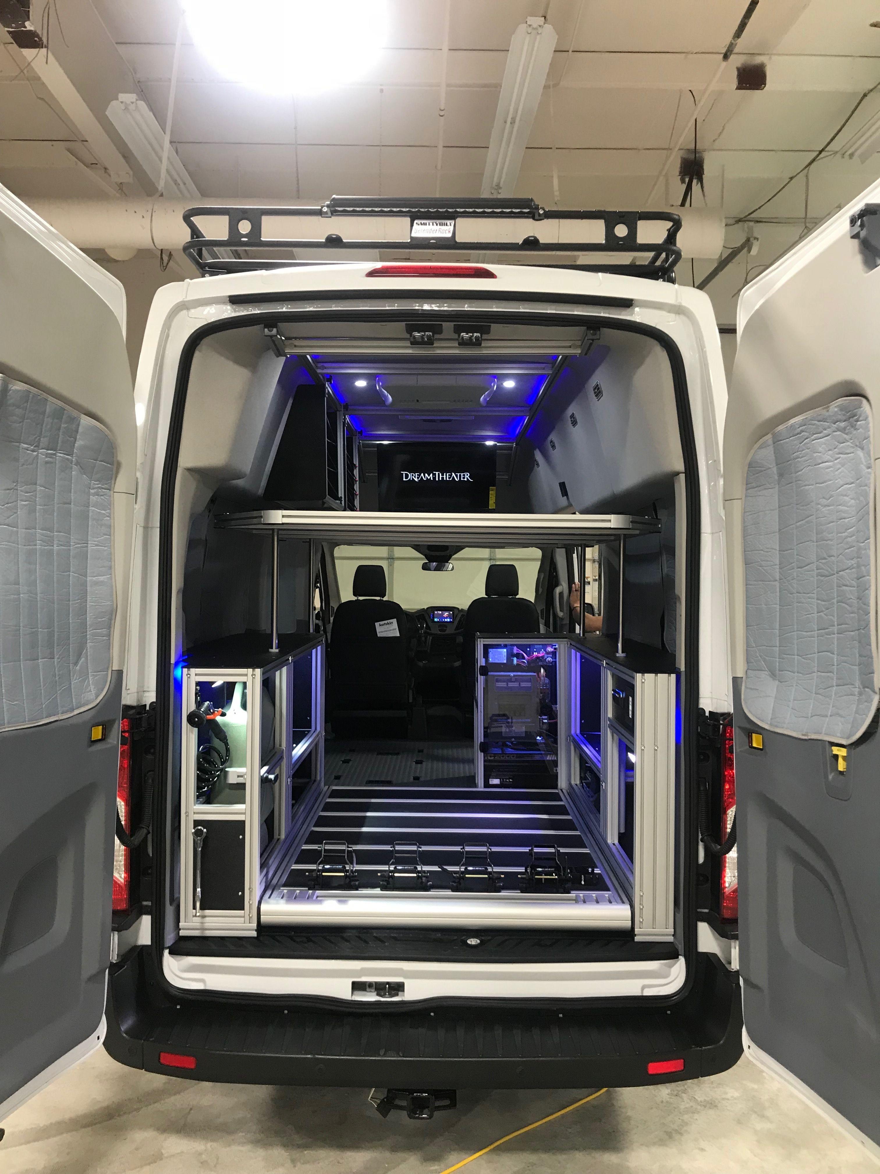 Vandoit Custom Camper Vans Custom Camper Vans Camper Van Ford Transit