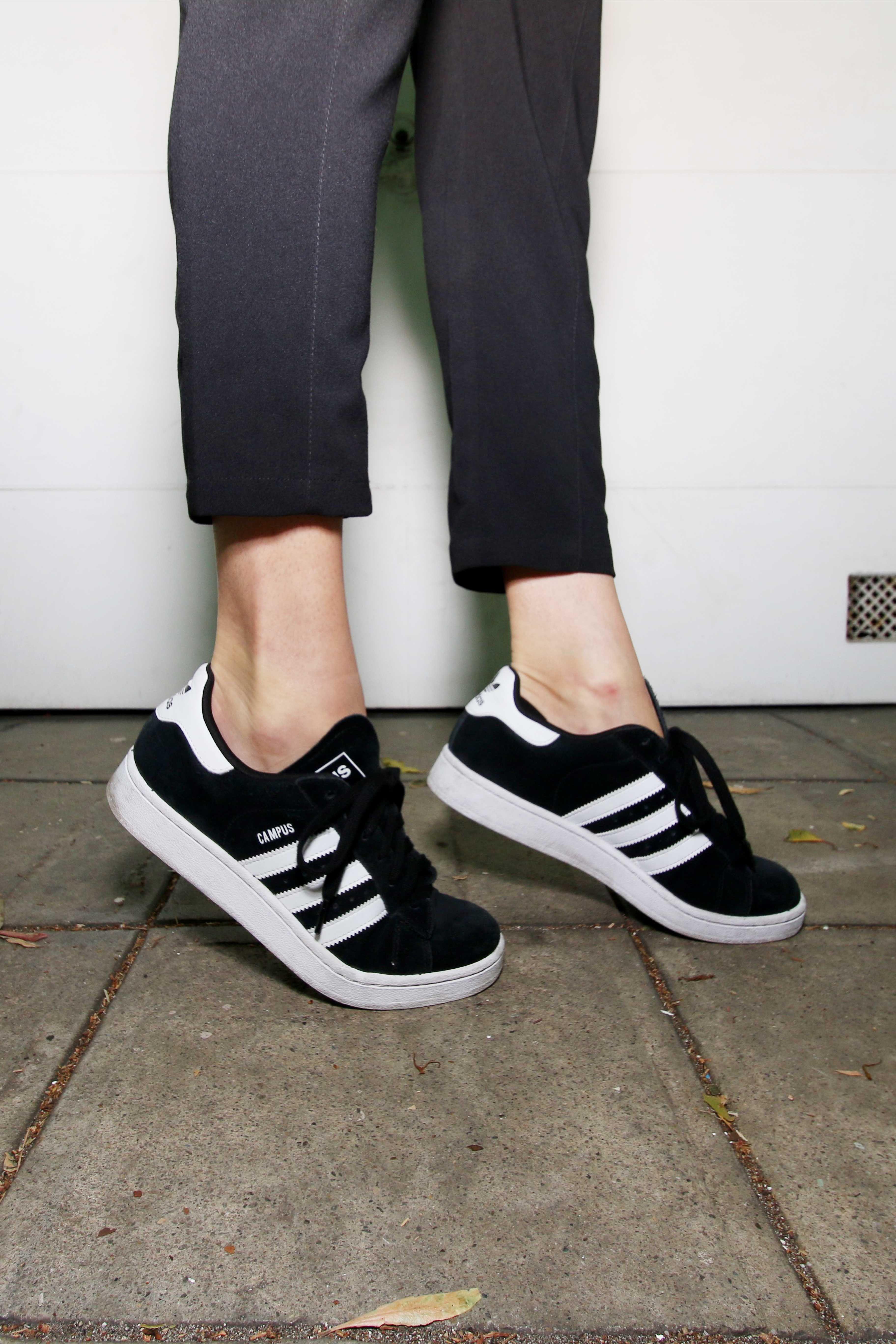 Adidas - campus, black and white | Loja