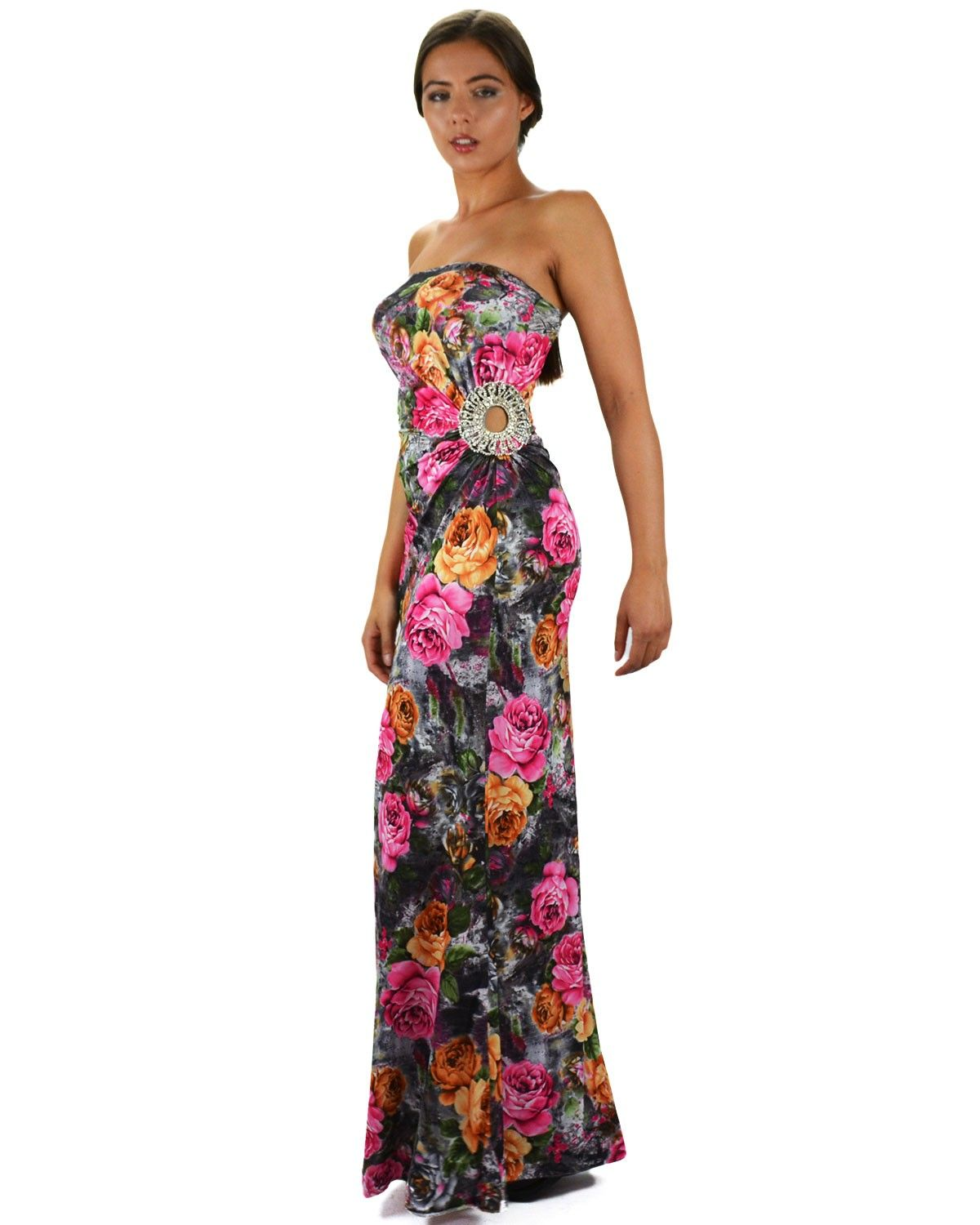 Floral maxi dresses long evening dresses womens maxi dress unique
