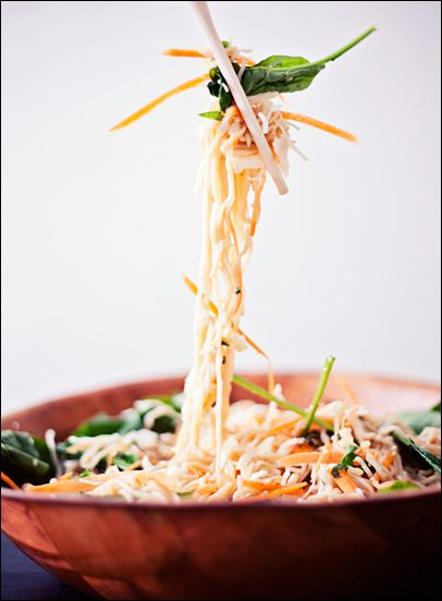 Shirataki Noodles Vegan Sesame Ginger Salad House Foods