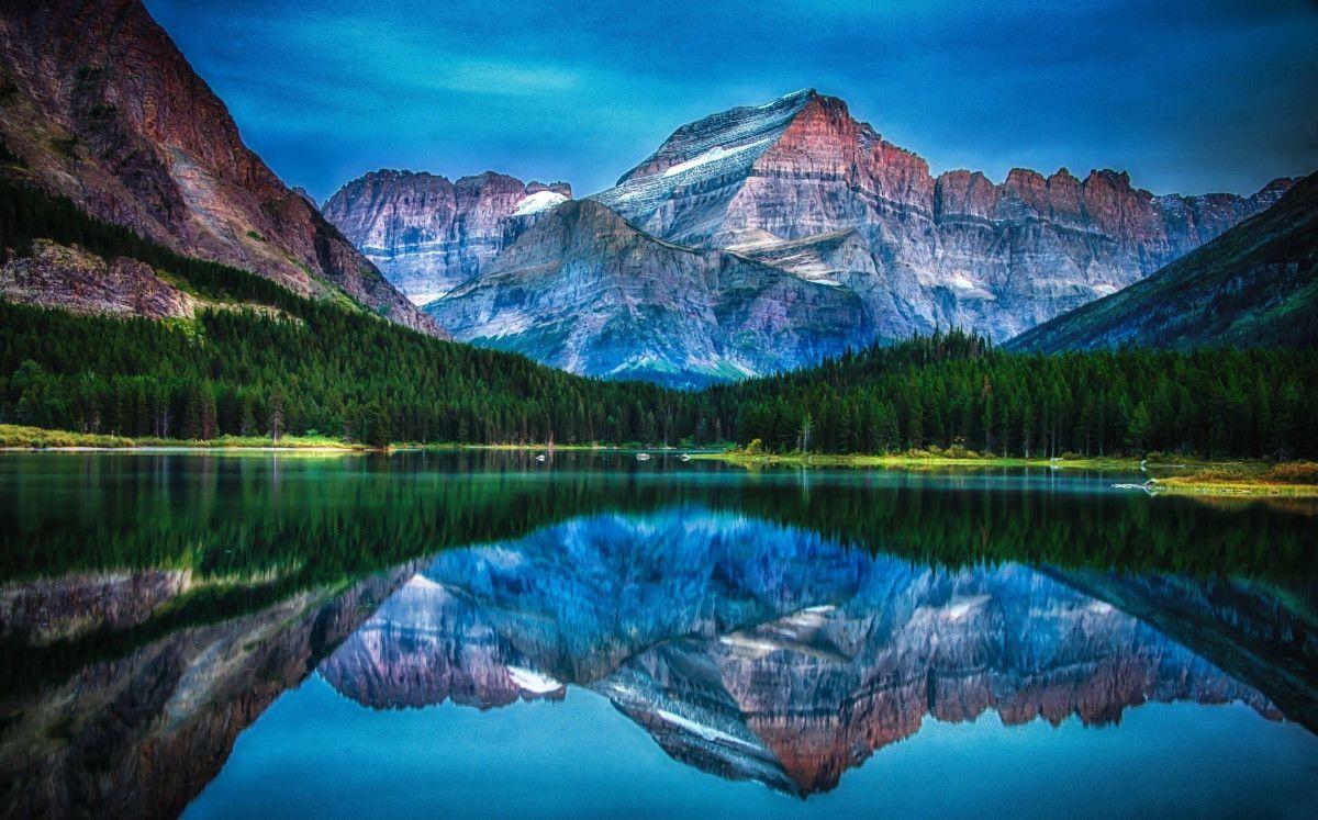 Serving Hashem In Simplicity Glacier National Park National