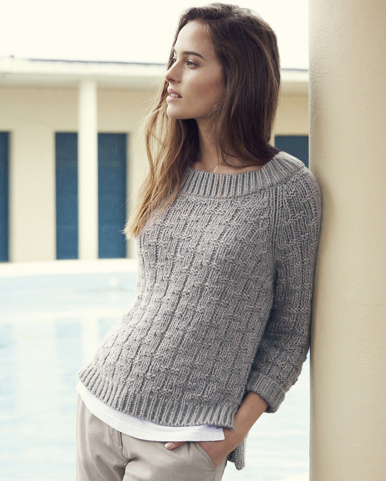 Poetry chunky knit sweater knitting pinterest knitting poetry chunky knit sweater bankloansurffo Gallery