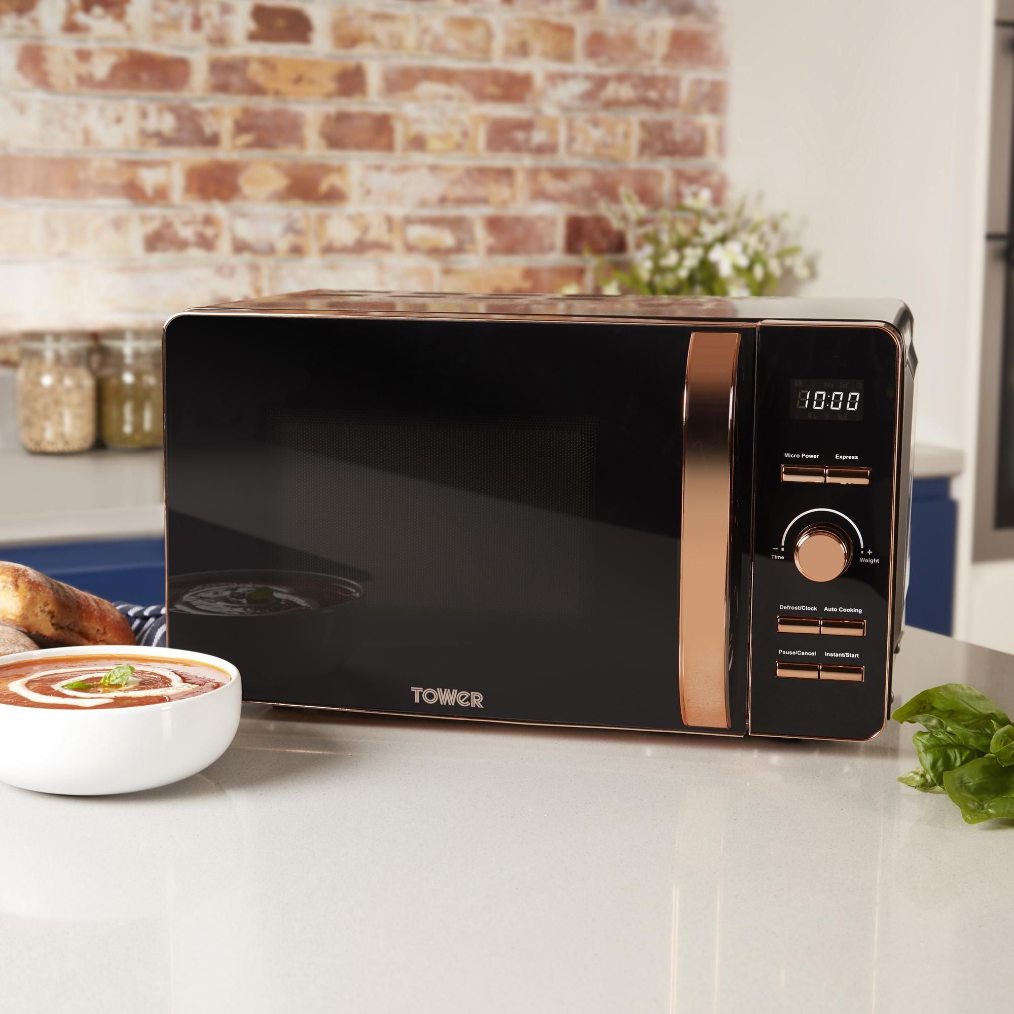 rose gold kitchen appliances