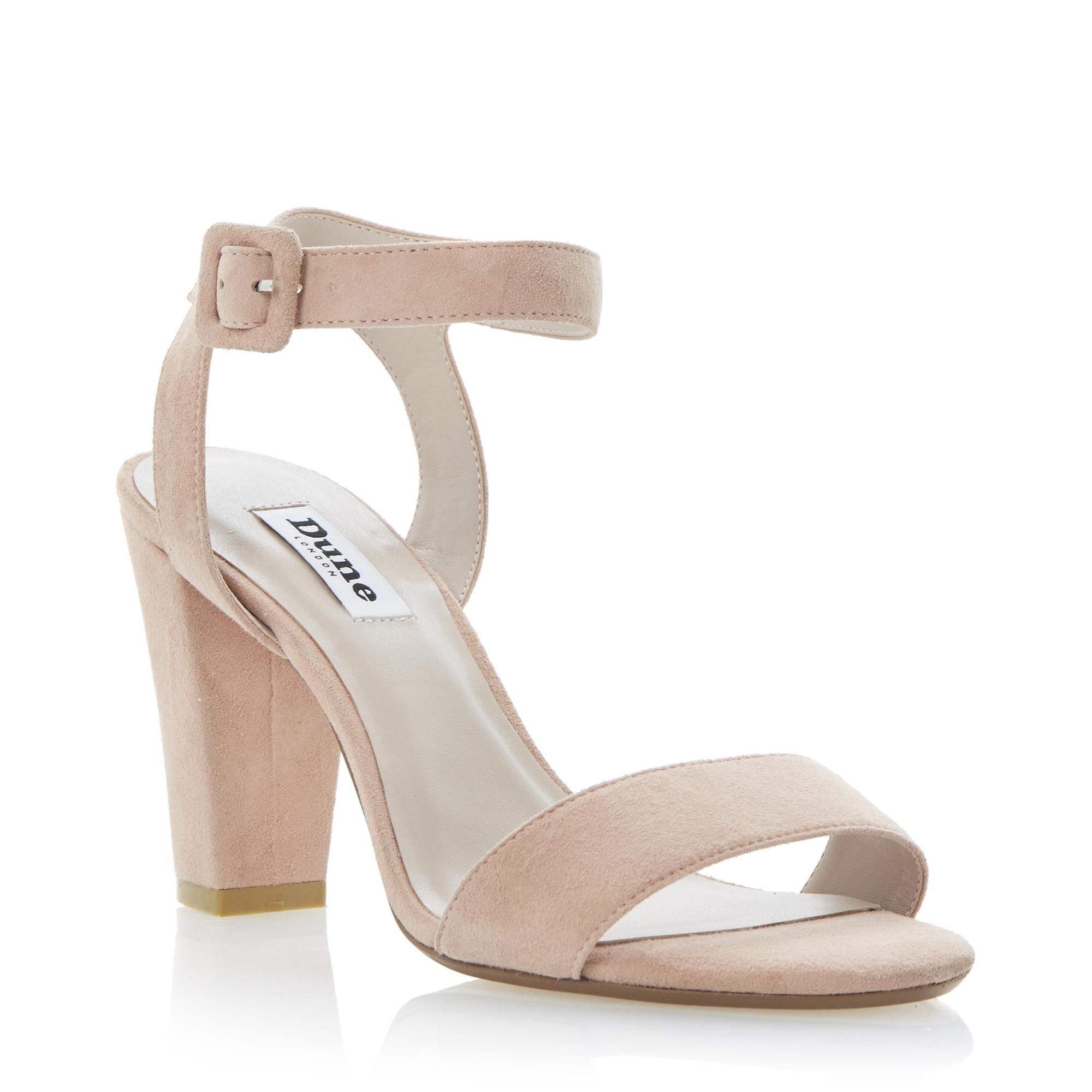 71a93902e DUNE LADIES HARPERS - Two Part Ankle Strap Block Heel Sandal nude | Dune  Shoes Online