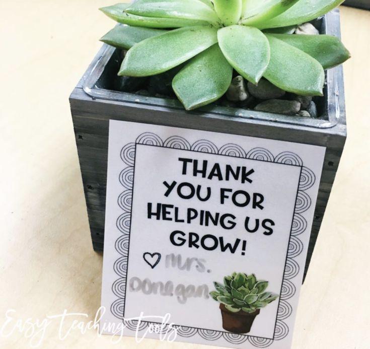 Easy Parent Volunteer Gifts
