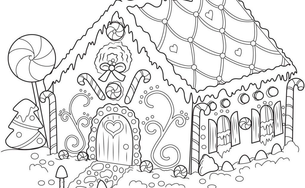 Free Printable Gingerbread House Coloring Pages For Kids Christmas Coloring Pages Christmas Coloring Sheets Christmas Coloring Books Christmas Coloring Pages