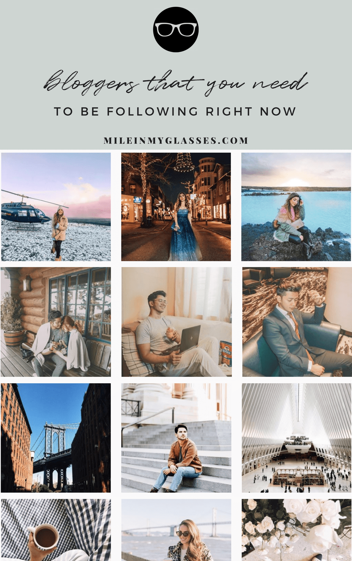 Lifestyle Blog Instagram Bloggers You Should Be Following On Instagram The Blogging