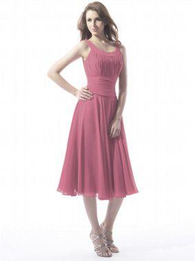Summer Tea Length Dress
