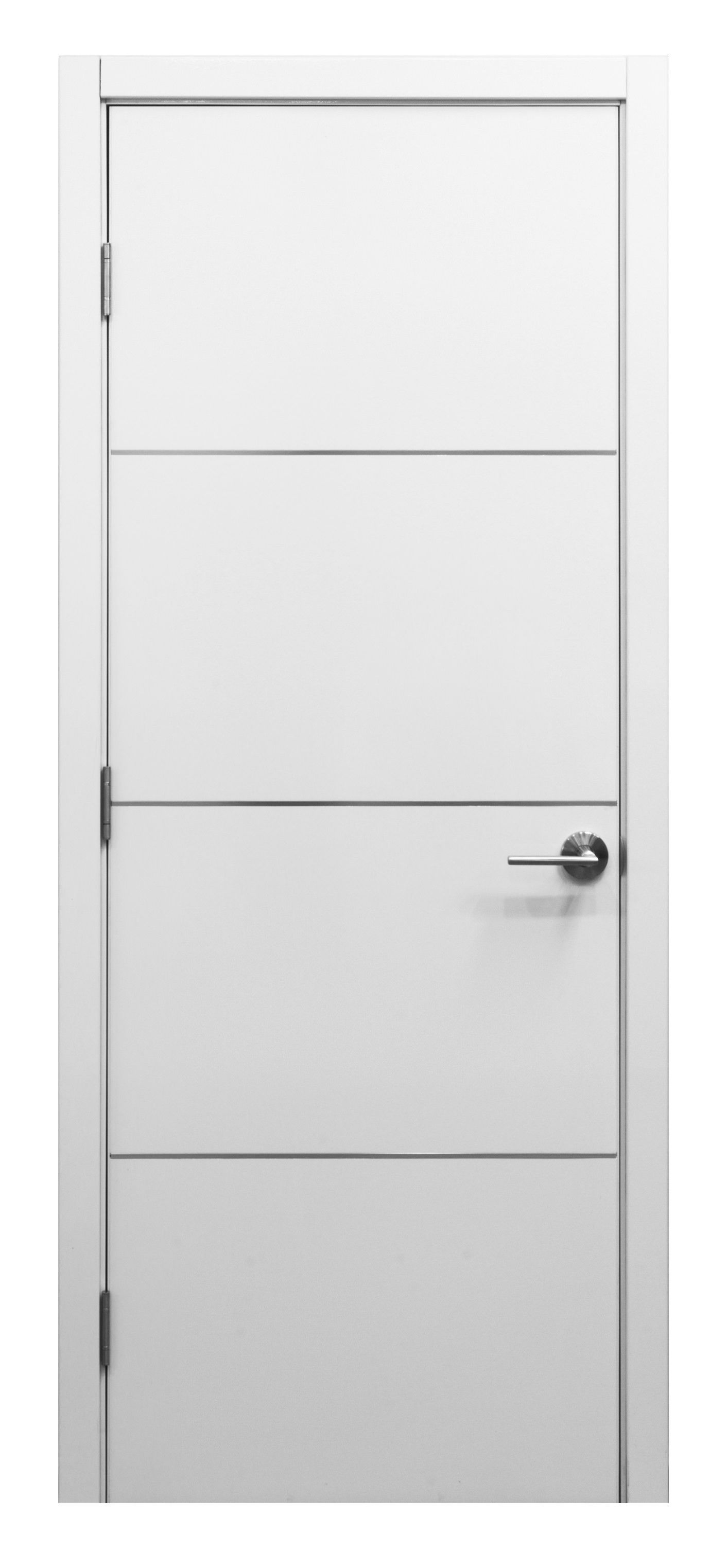 Superbe Nova HG008 White Gloss Laminate Interior Door