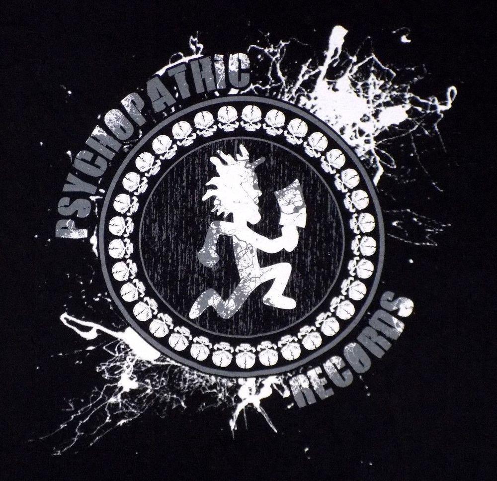 Psychopathic Records Xl Black T Shirt Hatchet Man Insane Clown Posse