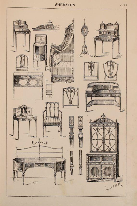 Pin de rosal a gonz lez en mueble antiguo muebles for Estilos de muebles antiguos