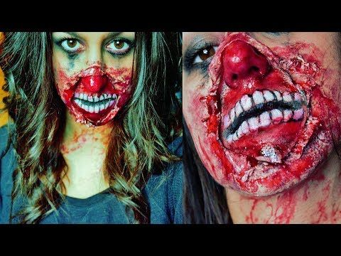 quick easy creepy zombie makeup tutorial halloween sfx special effects makeup - Quick Scary Halloween Costumes