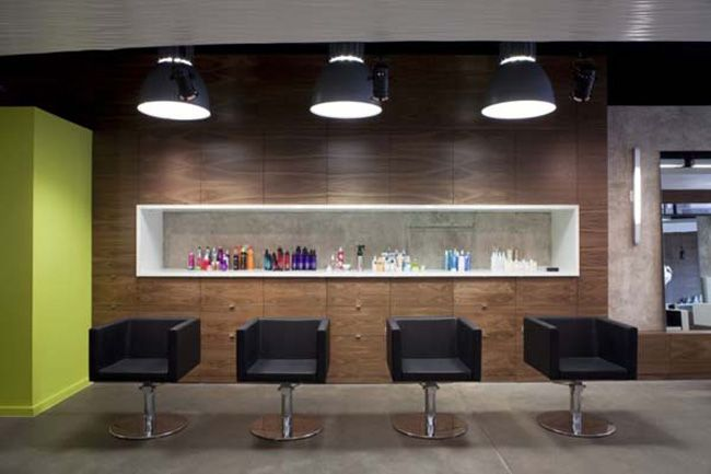 Modern hair salon design the propaganda in austin 1 smart for Design moderne salon