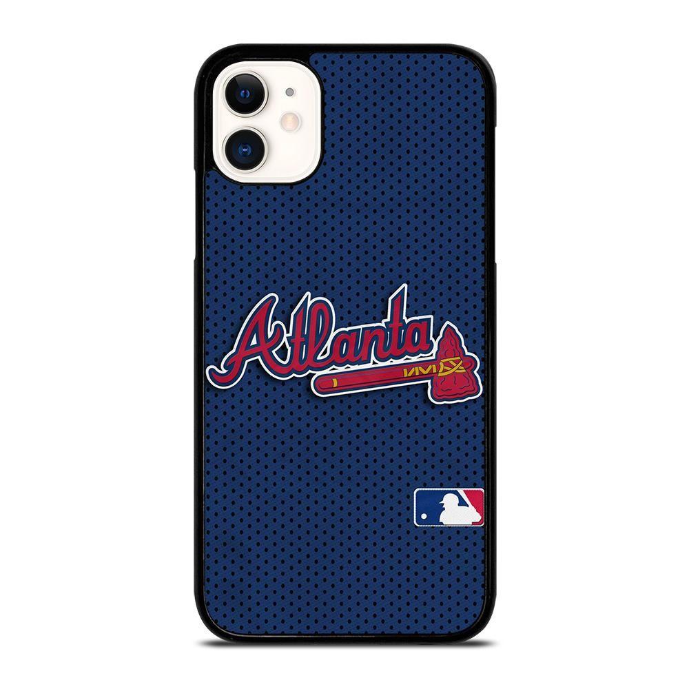 Atlanta Braves Jersey Logo Iphone 11 Case Cover Casesummer In 2020 Atlanta Braves Braves Jersey Atlanta Braves Jersey