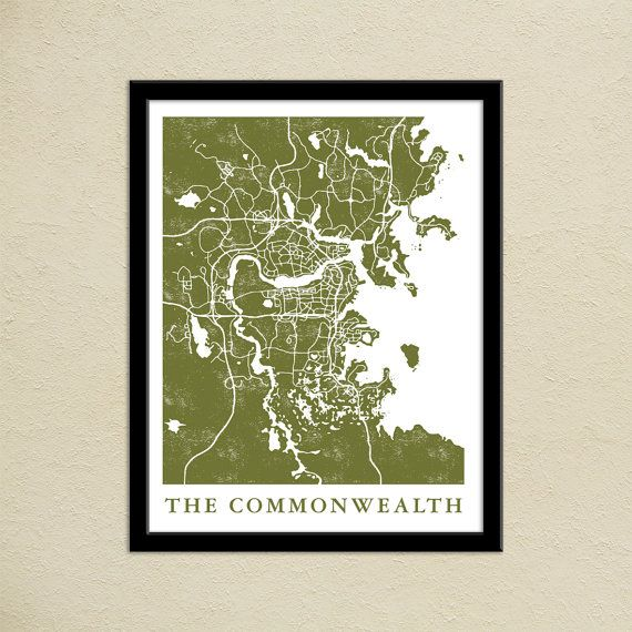 This is a map of the commonwealth from fallout 4 great for any this is a map of the commonwealth from fallout 4 great for any fallout fan in your life material printed on epson premium luster gumiabroncs Image collections