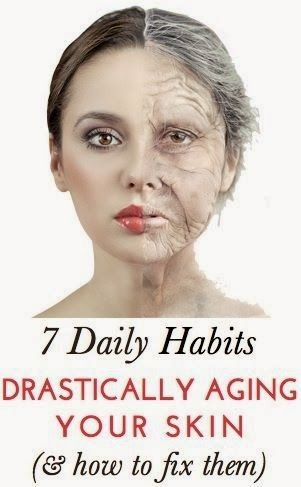 7 Daily Habits That Are Aging Your Skin  -  This website has all sorts of DIY ideas.
