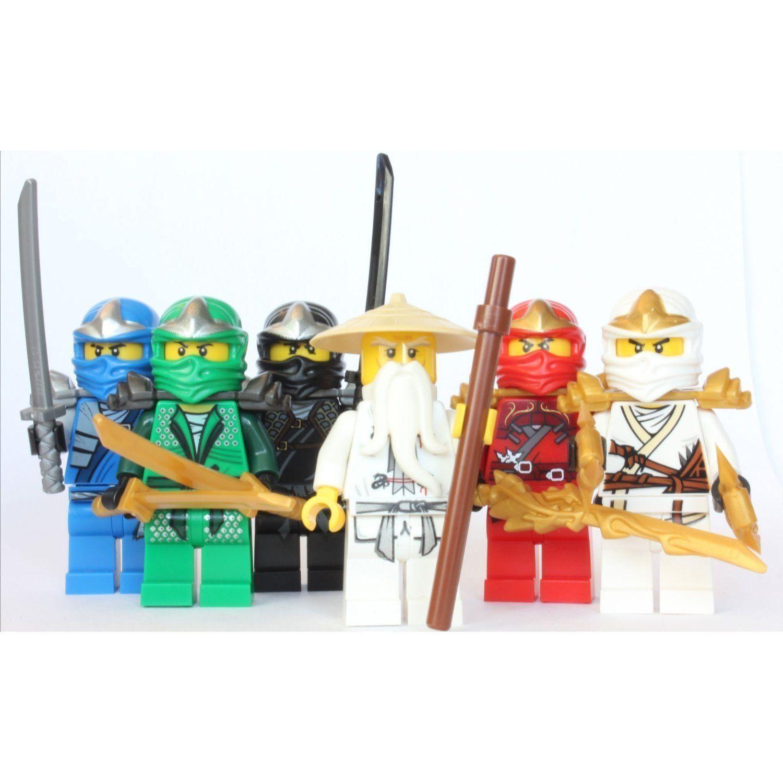 Lego ninjago sensei wu 5 zx ninjas lloyd - Sensei ninjago ...