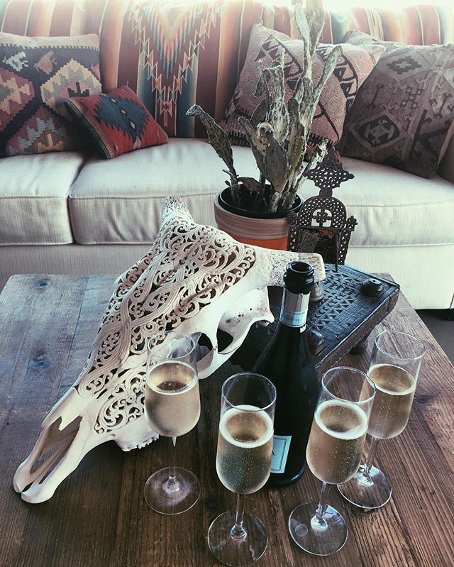Glorified Balinese Skull  ✻✦ bones n' prosecco to celebrate our new website launch www.childofwild.com ✣✻✧✻↠✻ 15% off jewelry + sale ✣ #childofwild #newvibes