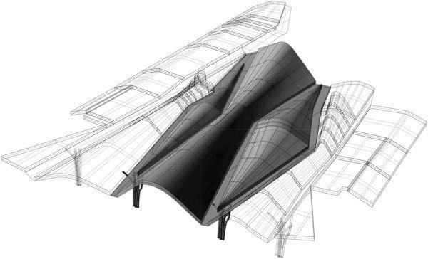 Best Three Dimensional Transofmation Roof Design Three 640 x 480