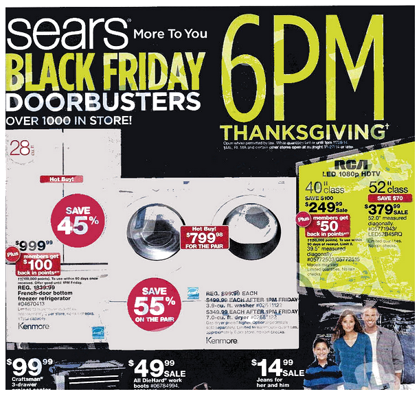 Sears Black Friday Deals 2014 have been released! : #BlackFridayDeals, #Deals, #OnlineDeals, #RetailStores, #Sears, #Stores Check it out here!!