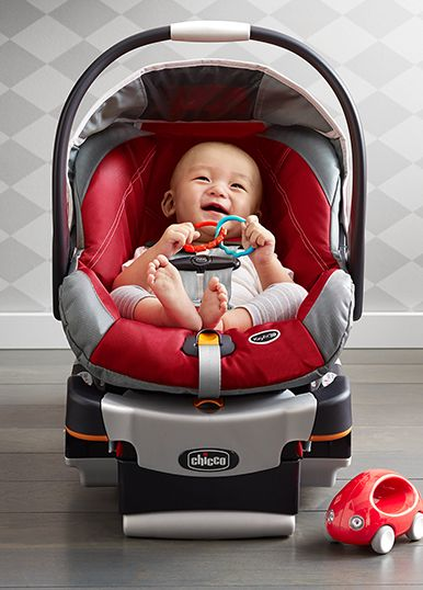 Safety First In This Chicco Car Seat