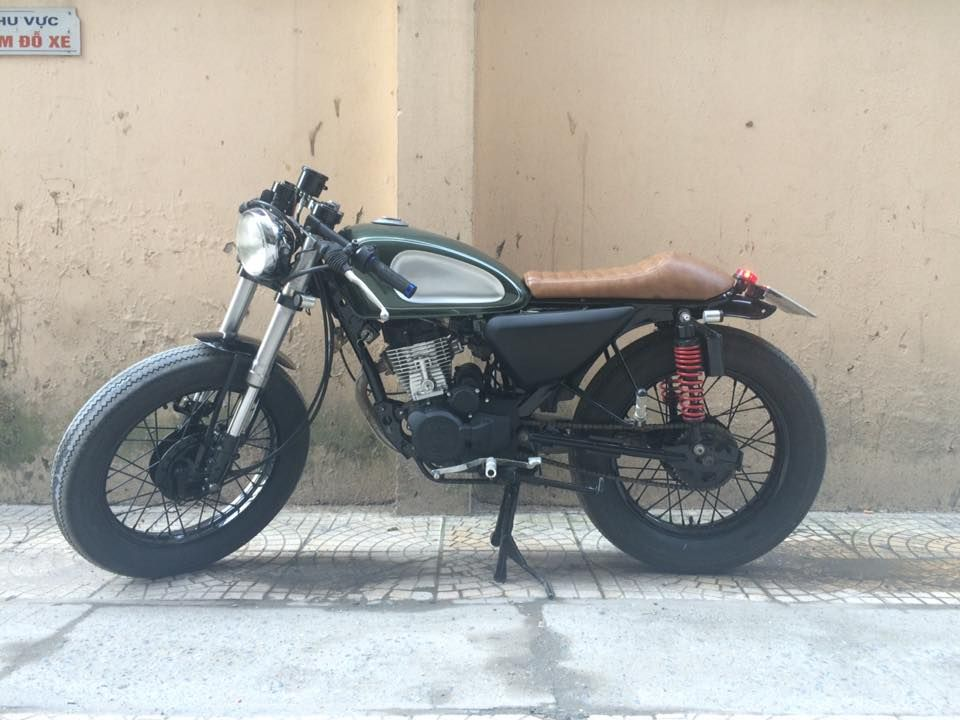 wolf 125 up cafe racer