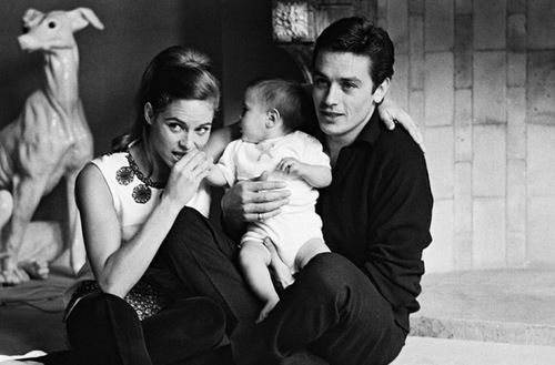 On 13 August 1964 Delon Married Nathalie Barthelemy Their Son Anthony Delon Was Born In September The Couple Divorced Alain Delon Retro Horror Ted Cassidy