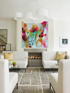 Image result for paintings in interior design