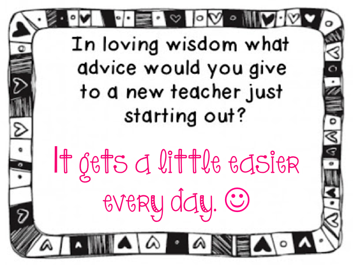 Making It As A Middle School Teacher: Fun Friday ~ Wisdom for a New Teacher
