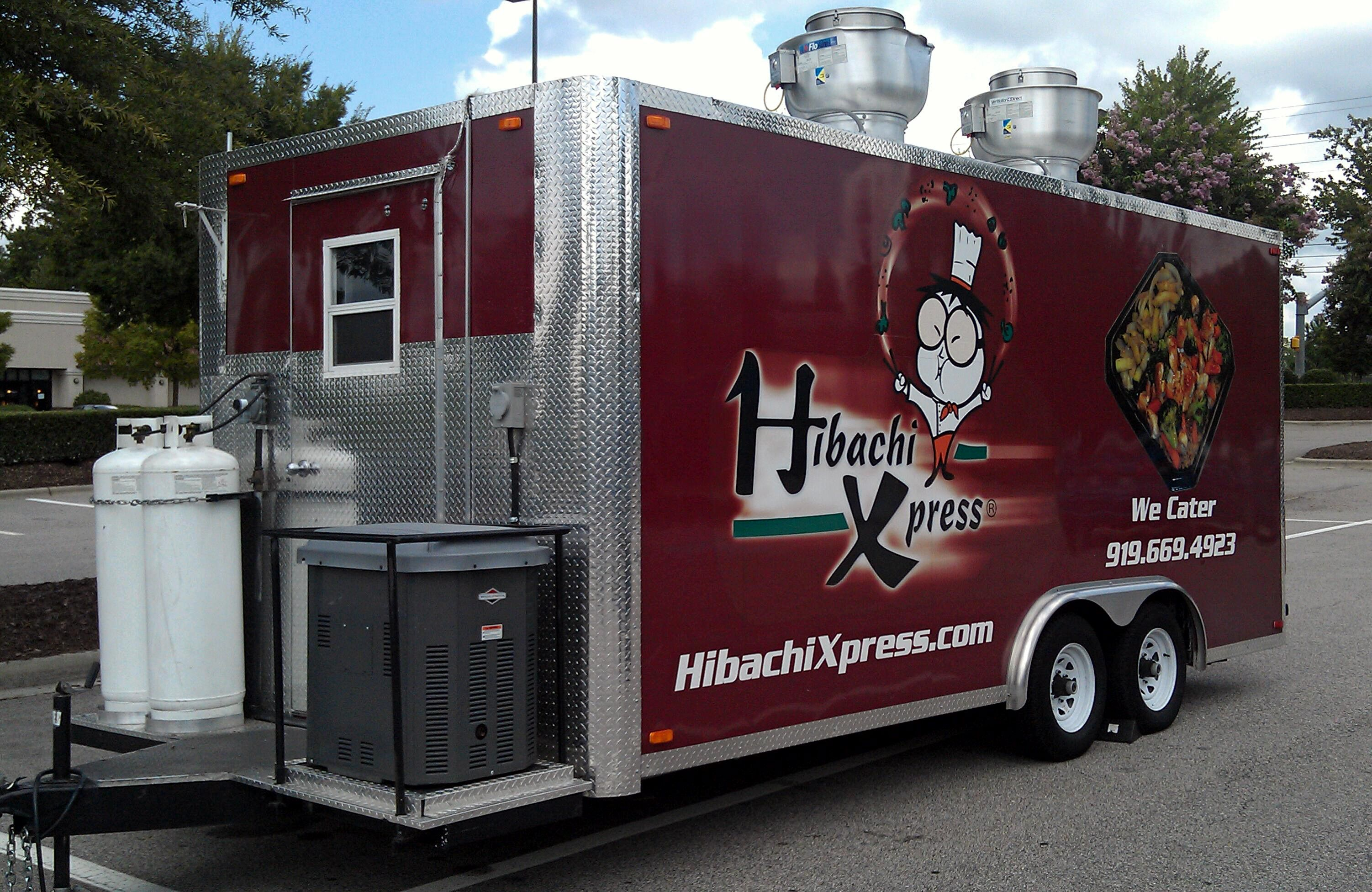 """Hibachi Xpress """"Express""""?...our food truck / trailer"""