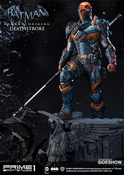 DC Comics Deathstroke Statue by Prime 1 Studio -  The Deathstroke Statue by Prime 1 Studio is avail