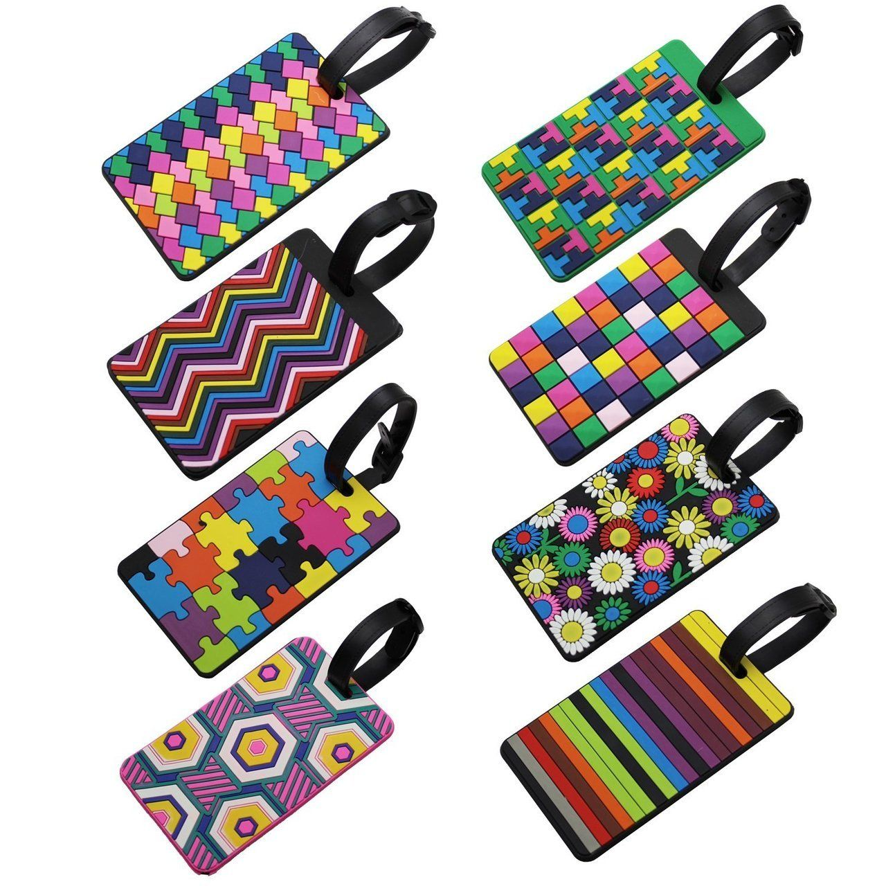 Ljy travel luggage suitcase labels id tags business card holder set ljy travel luggage suitcase labels id tags business card holder set of specificationsbr color colorful br size cm in br material pvc br br reheart Choice Image